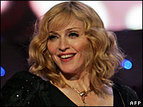 Madonna at Live Earth in London
