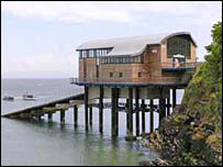 Tenby's new lifeboat station