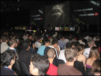 Gaming crowds