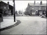 Wolverhampton street in the 1960s