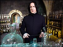 Alan Rickman in Harry Potter and the Order of the Phoenix