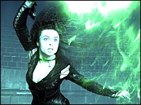 Helena Bonham Carter in Harry Potter and the Order of the Phoenix