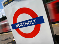 Northolt Tube Station (BBC)