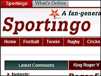 Sportingo UGC website