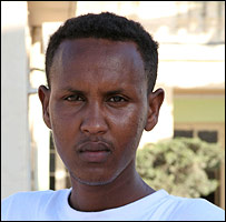 Somali migrant Abdul Far-Ali