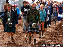 Kilts at T in the Park