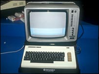 Commodore home computer from 1983