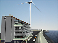 The Orbis Energy development planned for Ness Point, Lowestoft