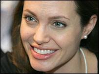 Angelina Jolie at Davos 2006