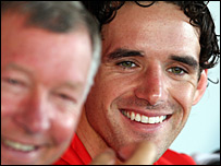 Sir Alex Ferguson and Owen Hargreaves