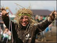 Muddy fan