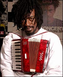 Musician Seu Jorge. Photo by Jose Maria Palmieri