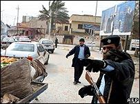 Baghdad scene