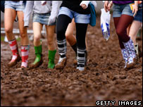 Mud at T in the Park