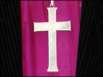 Church of England bishop's cross