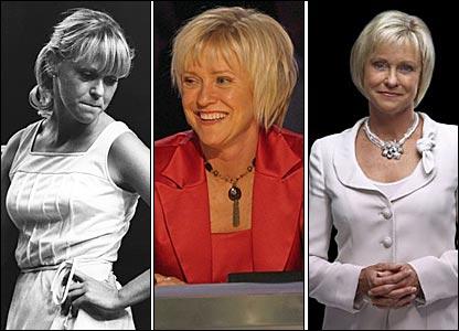 BBC Sport presenter and former tennis player Sue Barker