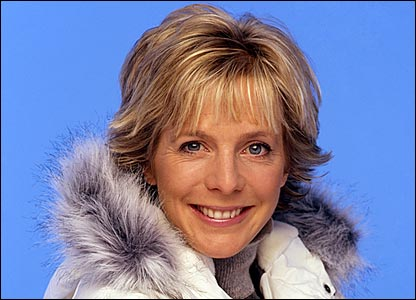 BBC Sport presenter Hazel Irvine