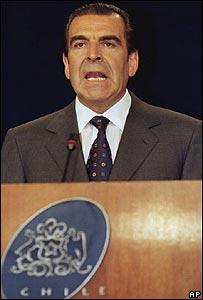 Eduardo Frei Ruiz-Tagle, presidente de Chile entre 1994 y 2000