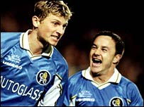 Tore Andre Flo was a team-mate of Wise and Poyet at Chelsea