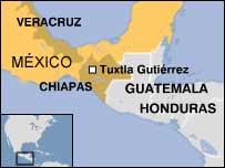 Los indocumentados fueron detenidos en Chiapas y en Veracruz.