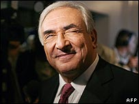 Former French minister Dominique Strauss-Kahn