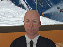 Avatar of WEF founder Professor Klaus Schwab