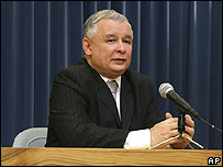 PM Jaroslaw Kaczynski (file picture)
