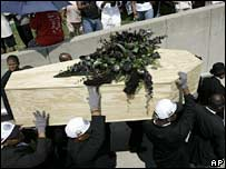 """The mock funeral of the """"N-word"""" in Detroit"""