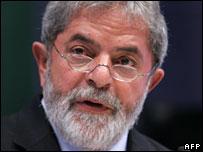Brazilian Prime Minister Luiz Inacio Lula da Silva