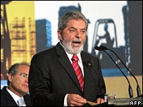 Brazil's President Luiz Inacio Lula da Silva a