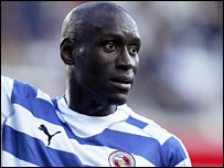 Ibrahima Sonko in action for Reading