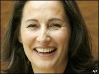 French Socialist presidential candidate Segolene Royal