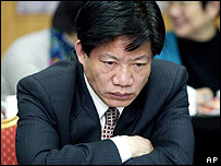 Undated photo of Zheng Xiaoyu, China's former head of the food and drug watchdog who was executed for corruption