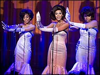 Anika Noni Rose, Beyonce Knowles and Jennifer Hudson in Dreamgirls