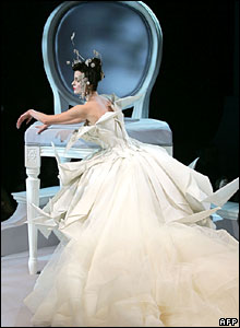 Christian Dior's spring-summer 2007 haute couture fashion collection