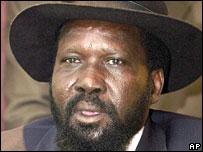South Sudan leader Salva Kiir