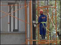 Man building Juba ministry building