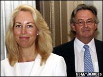 Valerie Plame and Joseph Wilson