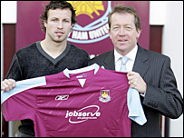 West Ham's new signing Lucas Neill