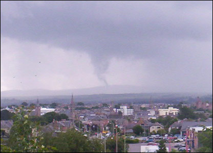 Tornado over Inverness