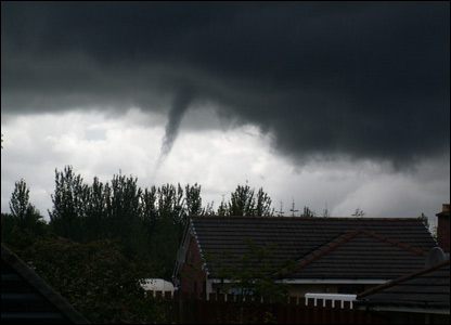 Twister over Whitburn