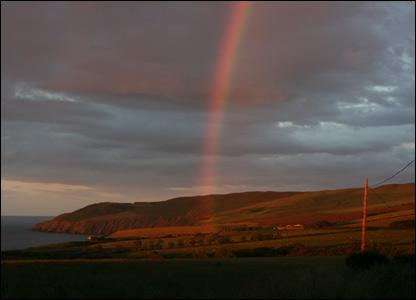 Rainbow at Redheugh