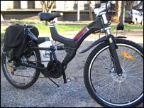 Powercruiser bike