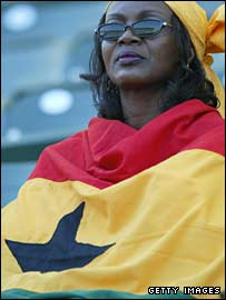 Ghanaian fan