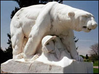 Памятник в Трое, штат Мичиган