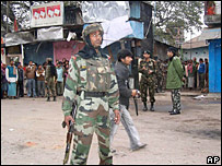 Security personnel in Assam