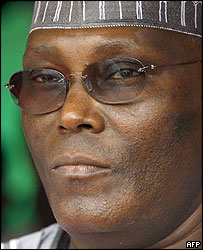Nigerian Vice-President Atiku Abubakar