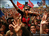 T in the Park crowd