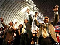 Miembros de iglesia evangélica