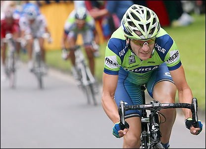 Liquigas's Frederik Willems